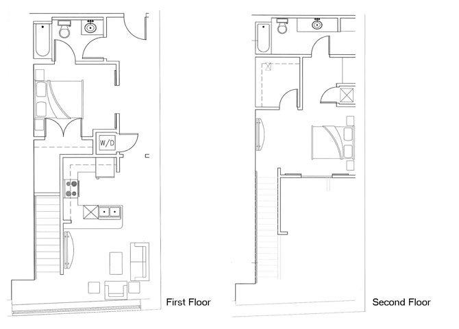 Ursa - 1BR x 1 bath Floor Plan 13