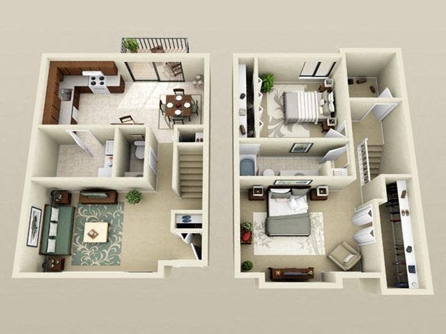 2 Bed TH Floor Plan 5