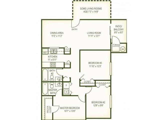 3 Br Floor Plan 3