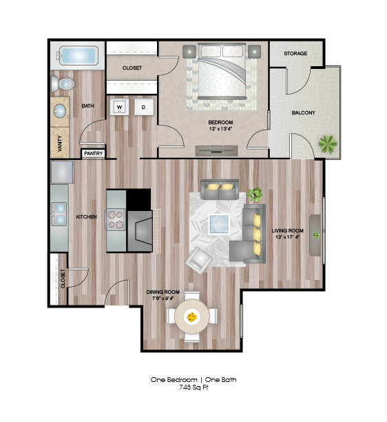 Birch Floor Plan 2