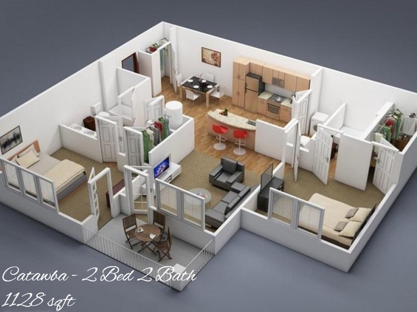 Catawba Floor Plan