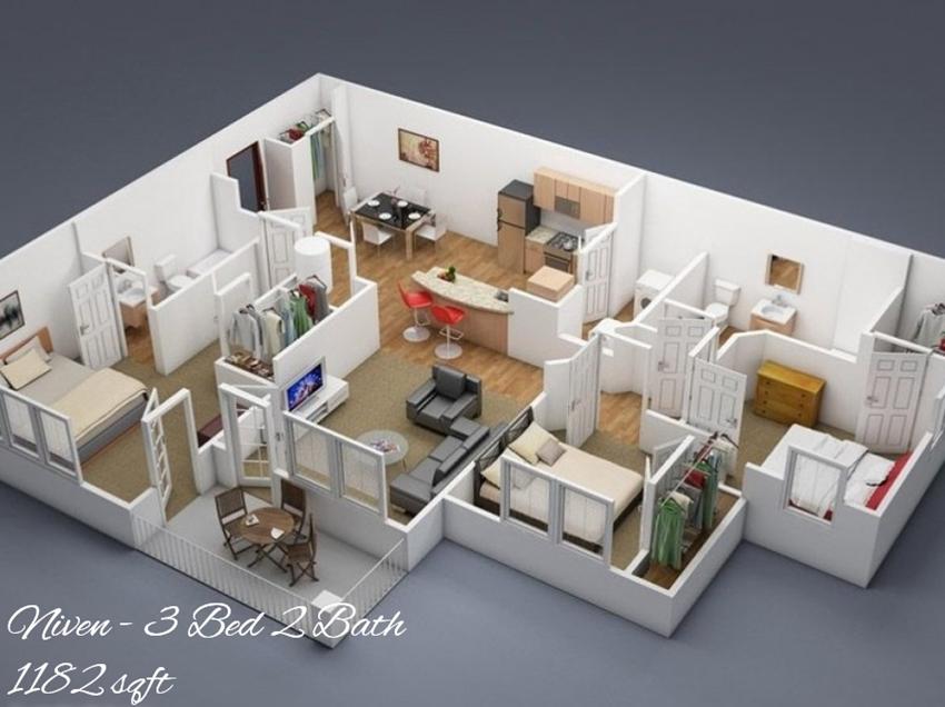 Niven Floor Plan