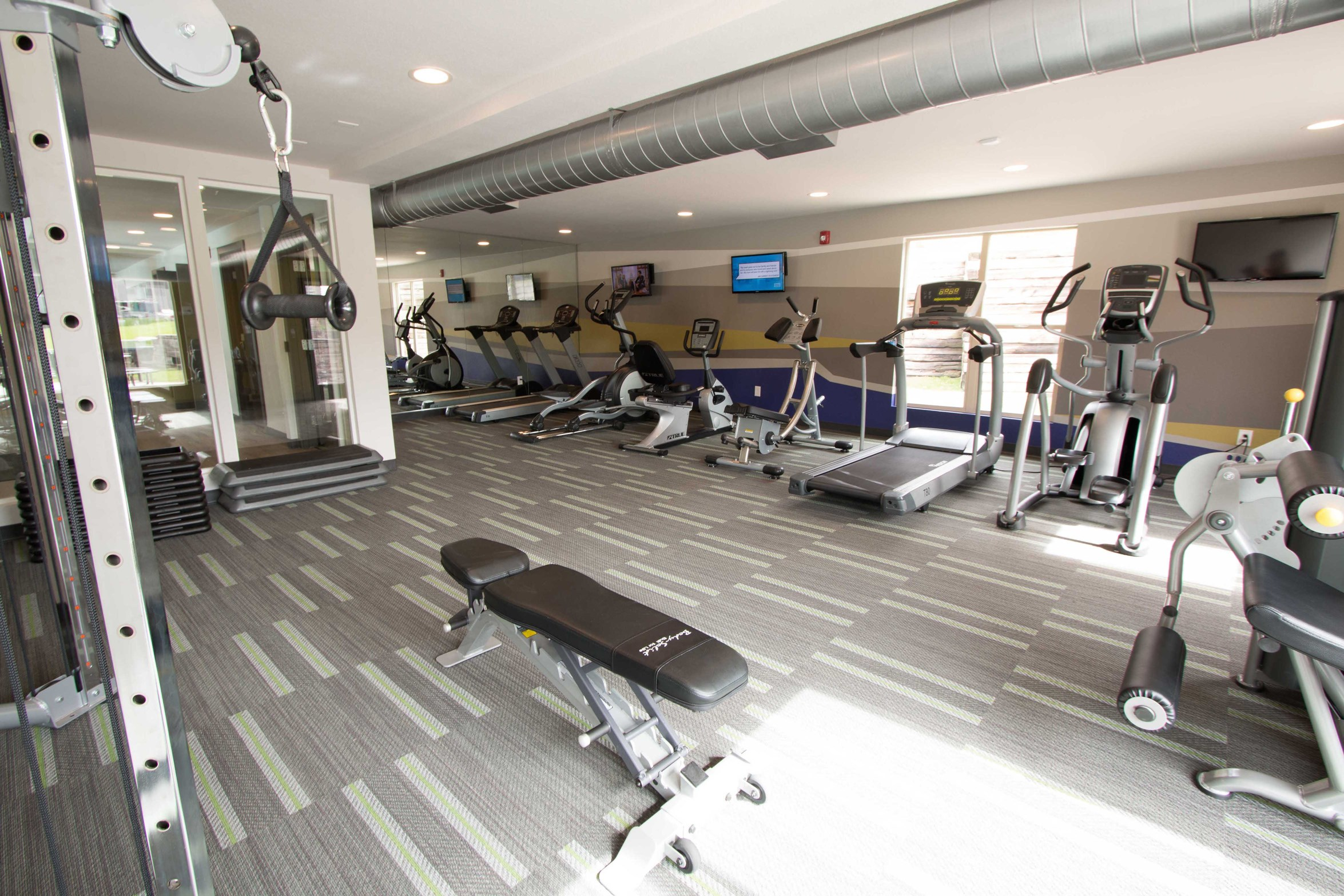 Fitness Center at Park 88 Apartments in Thornton, CO