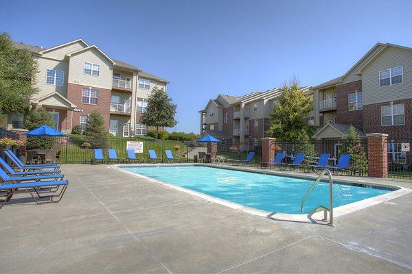 Sparkling Swimming Pool at Landings, The, Bellevue, Nebraska