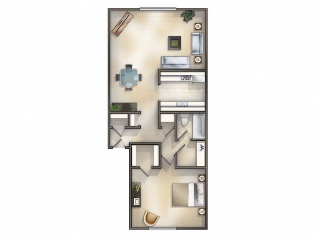 Caravel Renovated Floor Plan 2