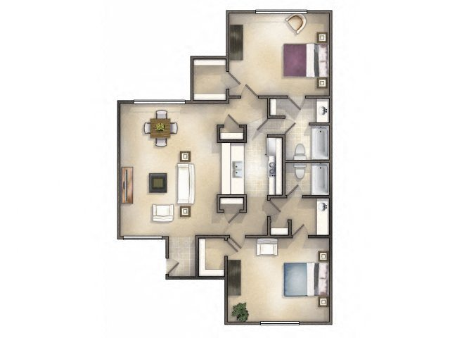 Clipper Renovated Floor Plan 6