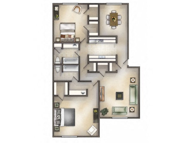 Galleon Renovated Floor Plan 4