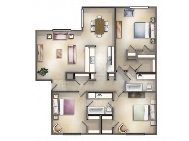Windjammer Renovated Floor Plan 10