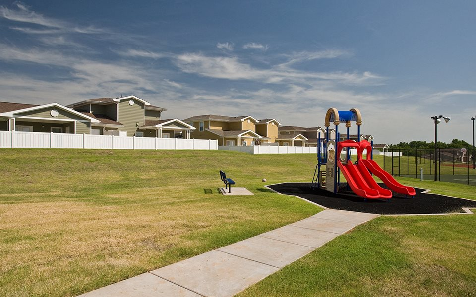 Tinker AFB Homes playground
