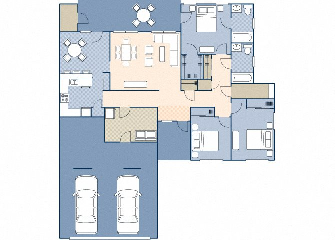 Castle Terrace 1242 Floor Plan 2