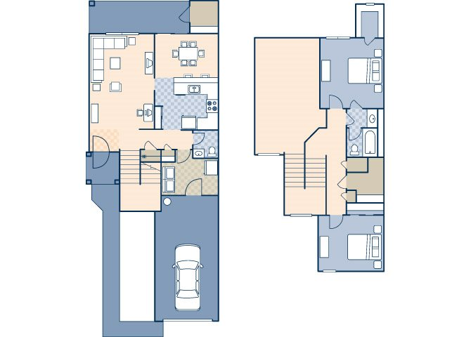 Castle Terrace 968 Floor Plan 1