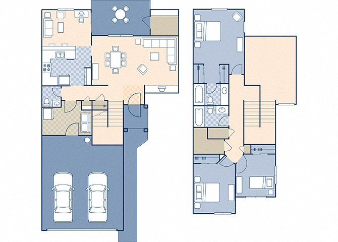 March Landing 1164 Floor Plan 44