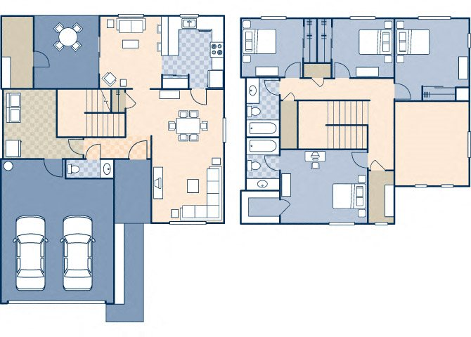 March Landing 1385 Floor Plan 46