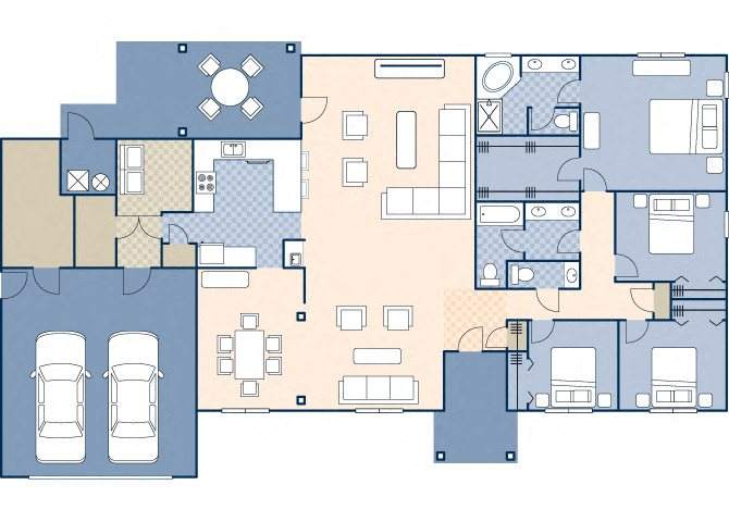 Moffett Court 2085 Floor Plan 38