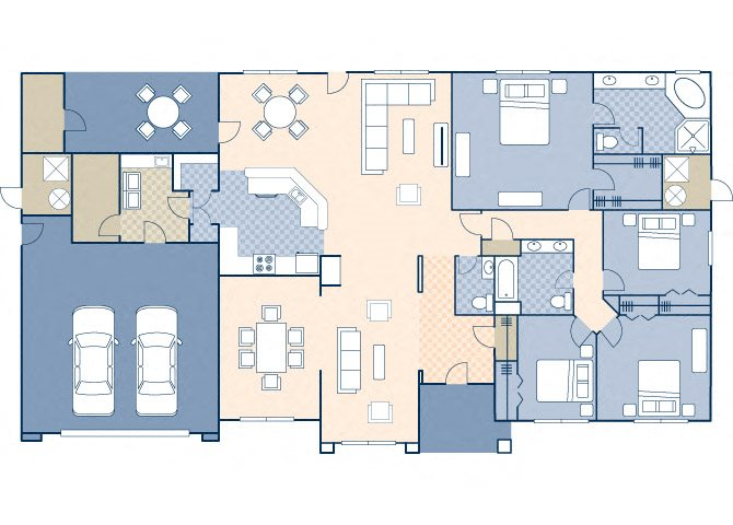 Norton Heights 2558 Floor Plan 20