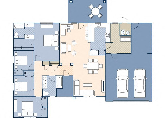 Onizuka Flats North 1611 Floor Plan 24