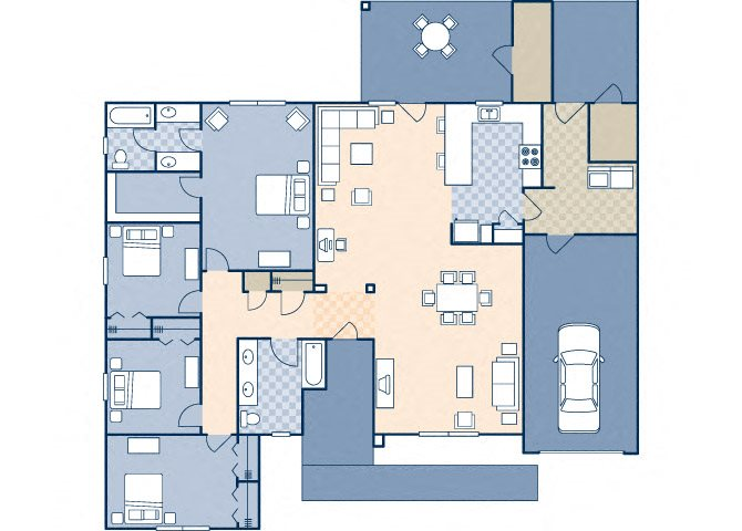 Onizuka Flats North 1635 Floor Plan 25
