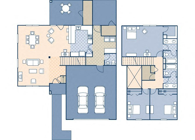 Onizuka Flats North 1483 Floor Plan 23