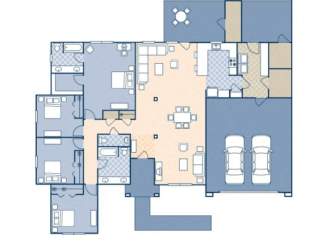 Onizuka Flats North 1729 Floor Plan 27