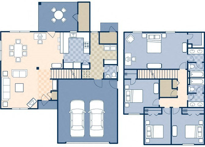 Onizuka Flats North 1829 Floor Plan 28