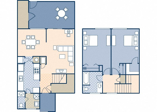 Onizuka Flats South 981 Floor Plan 29