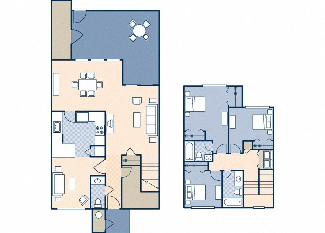 Onizuka Flats South 1008 Floor Plan 30