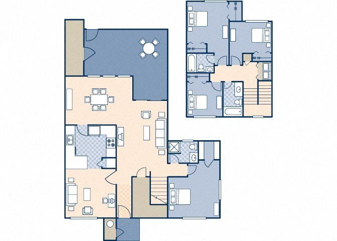 Onizuka Flats South 1234 Floor Plan 31