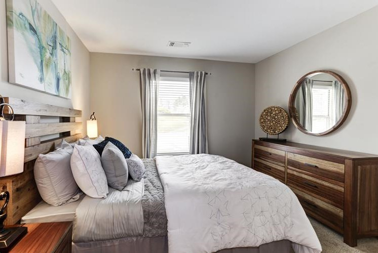 Ample Bedrooms that Accommodate King-Size Beds at The Douglas at Constant Friendship, Abingdon