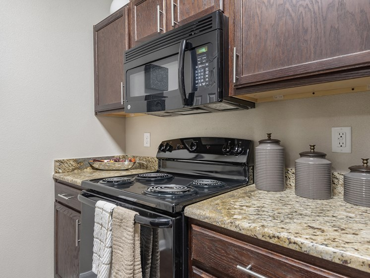 kitchen with stove and oven