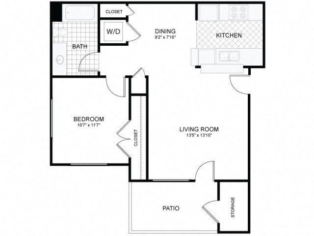 1x1 SM Floor Plan 2