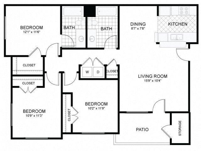 3x2 LG Floor Plan 9