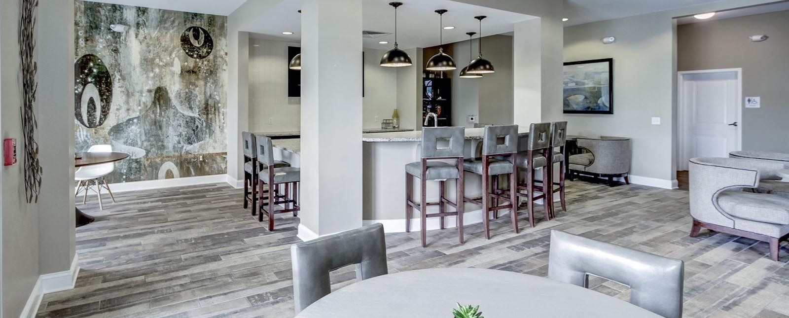 Resident Lounge of The Haven luxury apartments in Malvern, PA