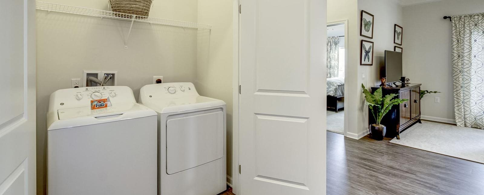 Washer and Dryer at The Haven luxury apartments in Malvern, PA