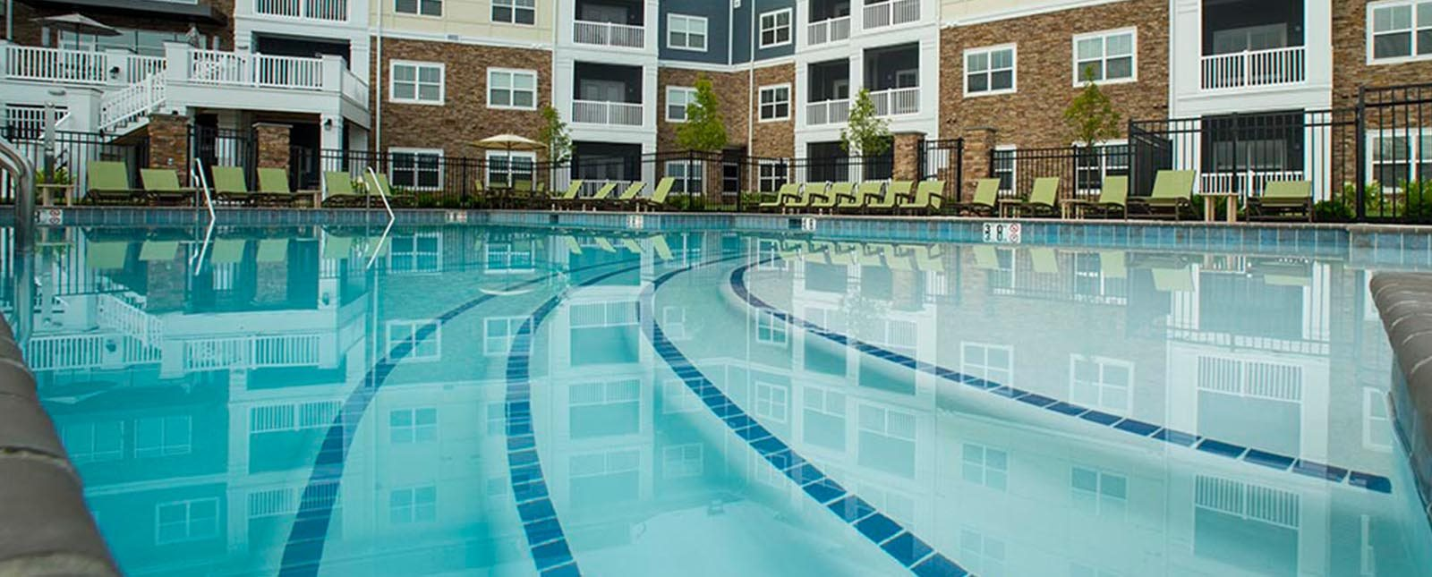 Swimming Pool of The Haven luxury apartments in Malvern, PA