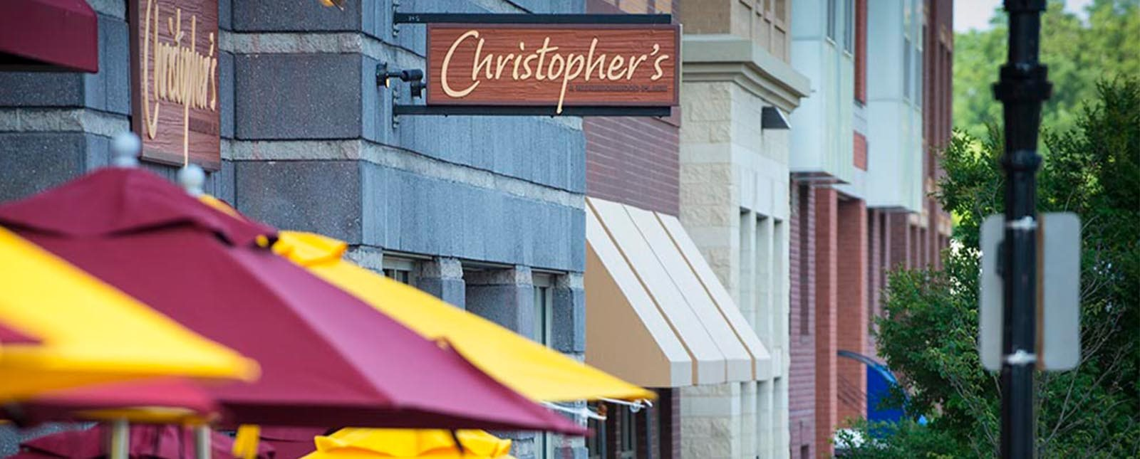 Christopher's near The Haven luxury apartments in Malvern, PA