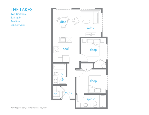 The Lakes Floor Plan 11
