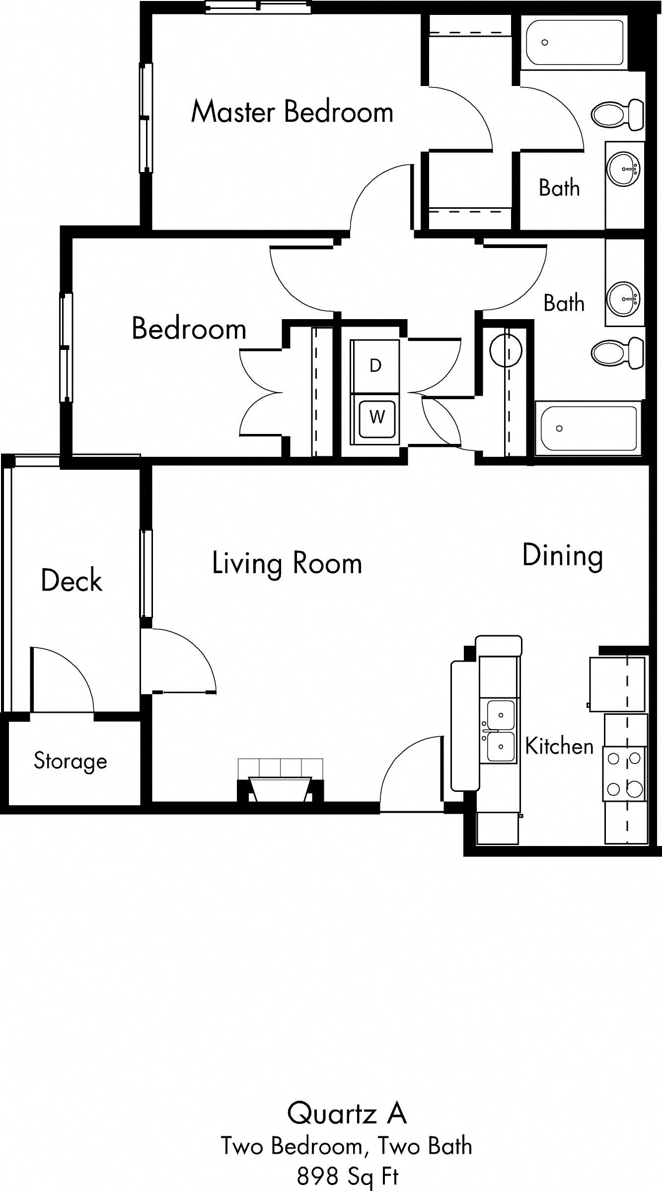 Quartz A Floor Plan 11