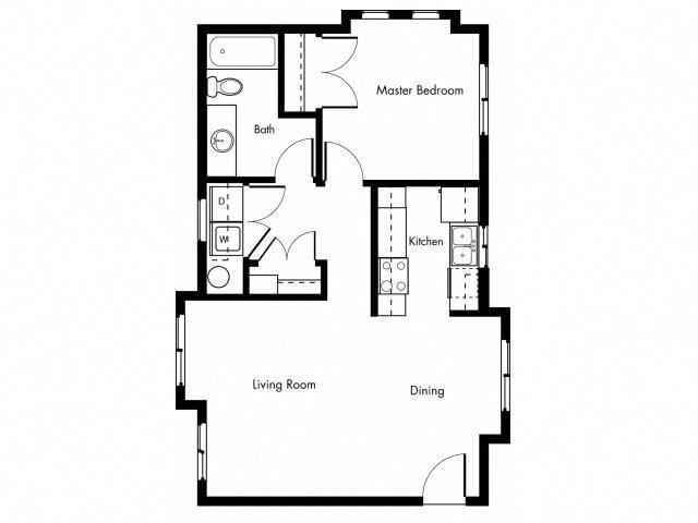 SLATE A Floor Plan 1