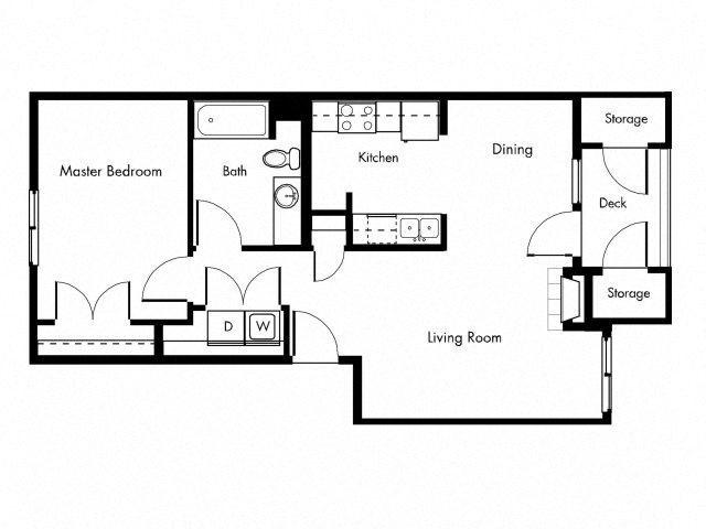 SLATE D Floor Plan 4