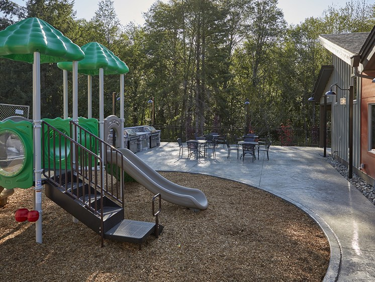Community Park with Sitting Area.