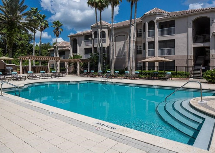 The Vinings at Hunters Green Apartments Tampa Swimming Pool