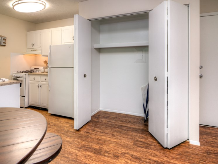 Spacious Closets at Lakecrest Apartments in St Joseph MI