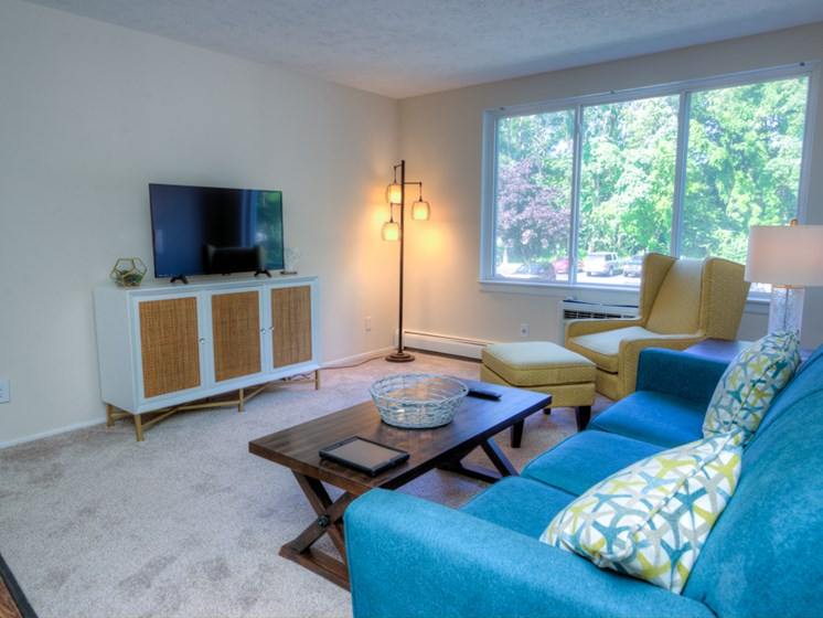 Open Floor Plans at Lakecrest Apartments in St Joseph MI