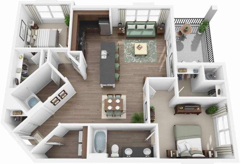 Elevation Floor Plan 4