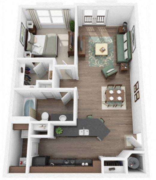 Peak Floor Plan 1