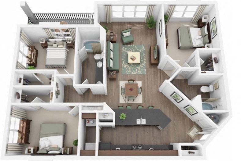 Vertex Floor Plan 5