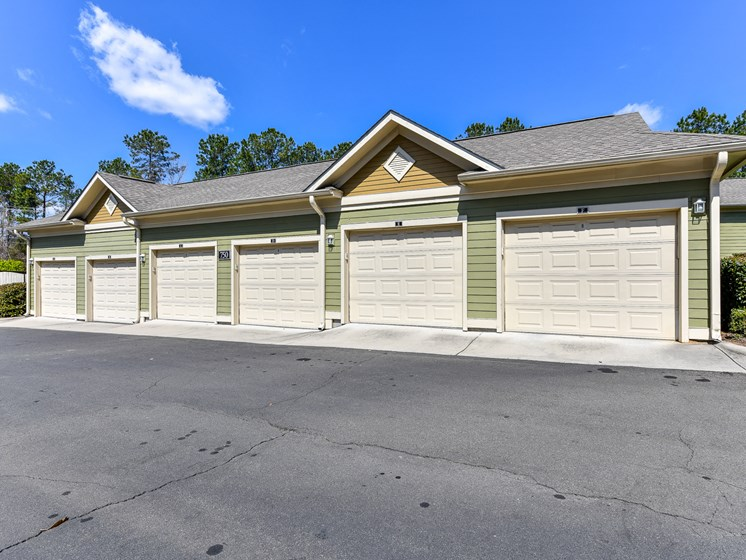 Garages and Storage Units Available at Alden Place at South Square Apartments, Durham, NC 27707