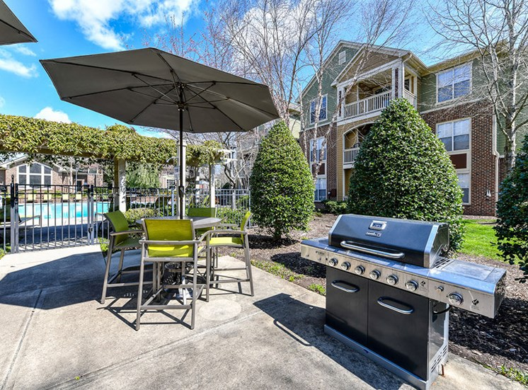 Looking for the perfect way to entertain guests or enjoy time spent with family and friends? Utilize the newly renovated Grilling Areas at Alden Place at South Square Apartments,Durham, NC 27707