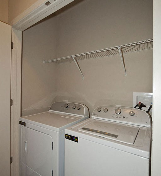 Washer/Dryer Connections in Every Apartment Home at Ansley at Roberts Lake, Arden, NC, 28704