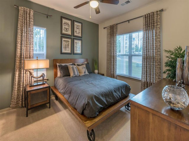Master Bedroom Feels Large and Spacious with Impressive High Ceilings and Large Walk-In Closets at Ashby at Ross Bridge, Hoover, AL 35226